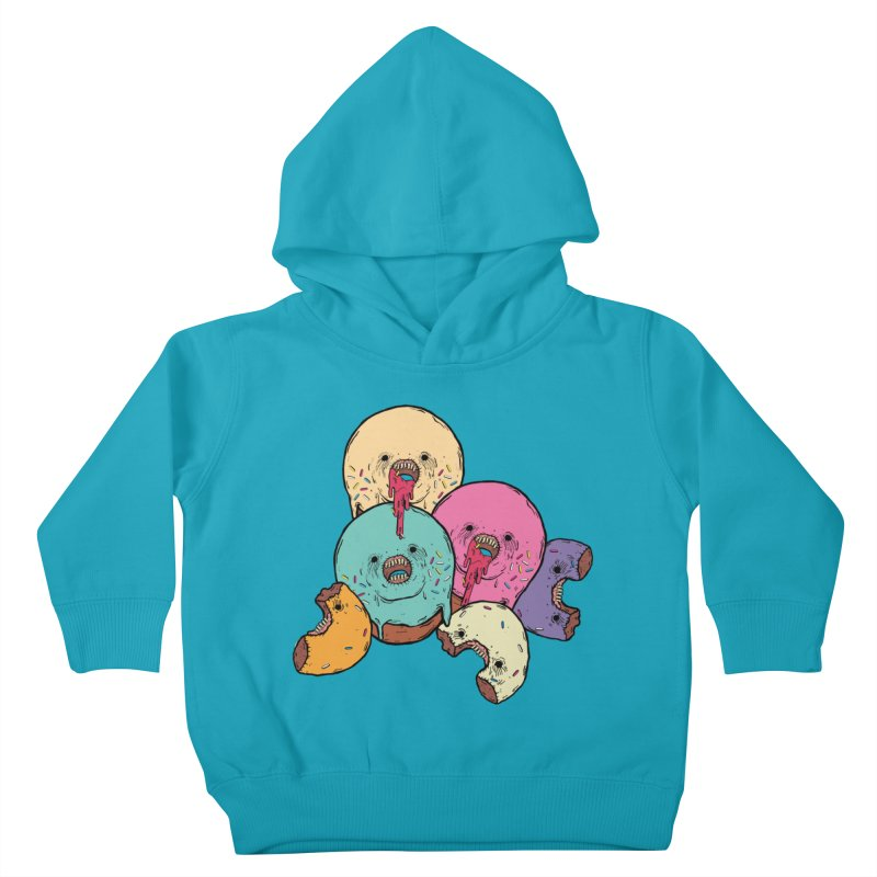 Donut Cluster Kids Toddler Pullover Hoody by ellooelloo