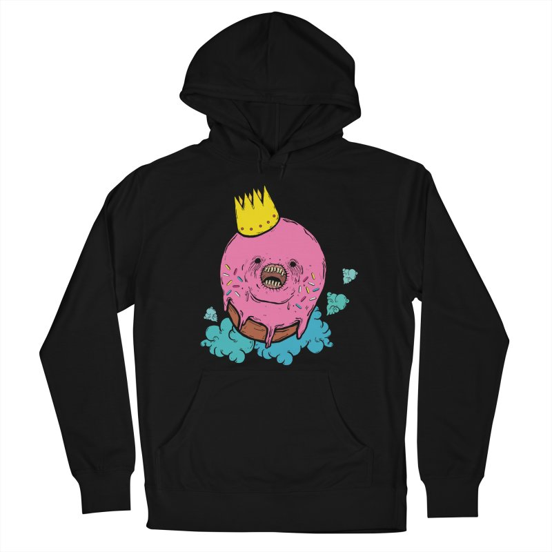 Donut King Men's French Terry Pullover Hoody by ellooelloo