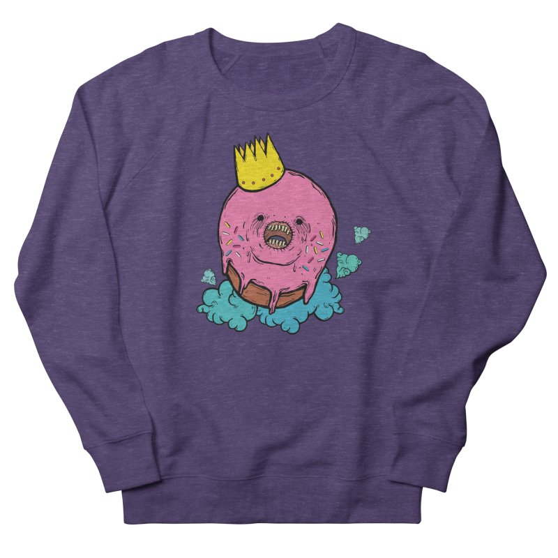 Donut King Women's French Terry Sweatshirt by ellooelloo