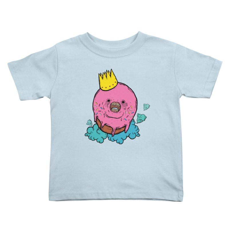 Donut King Kids Toddler T-Shirt by ellooelloo