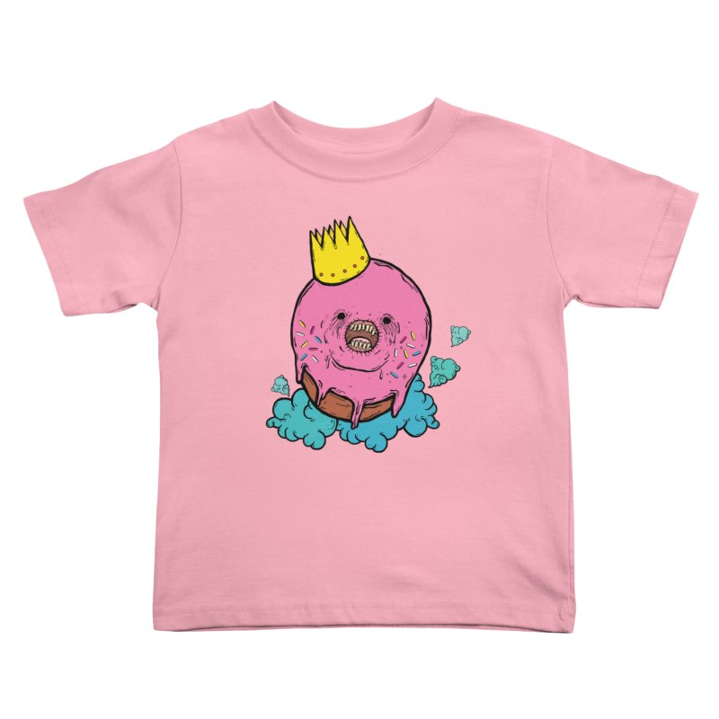 Donut King Kids Toddler T-Shirt by ellooelloo