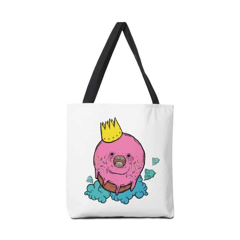 Donut King Accessories Bag by ellooelloo