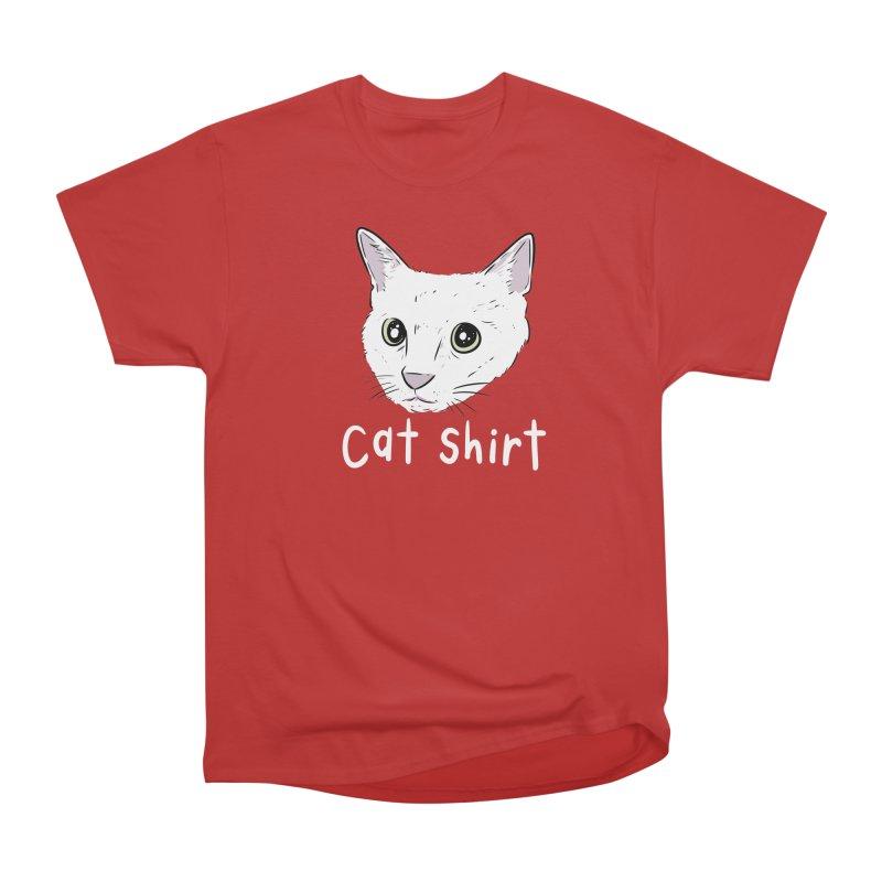 Cat Shirt Men's Heavyweight T-Shirt by Ryan's Shop