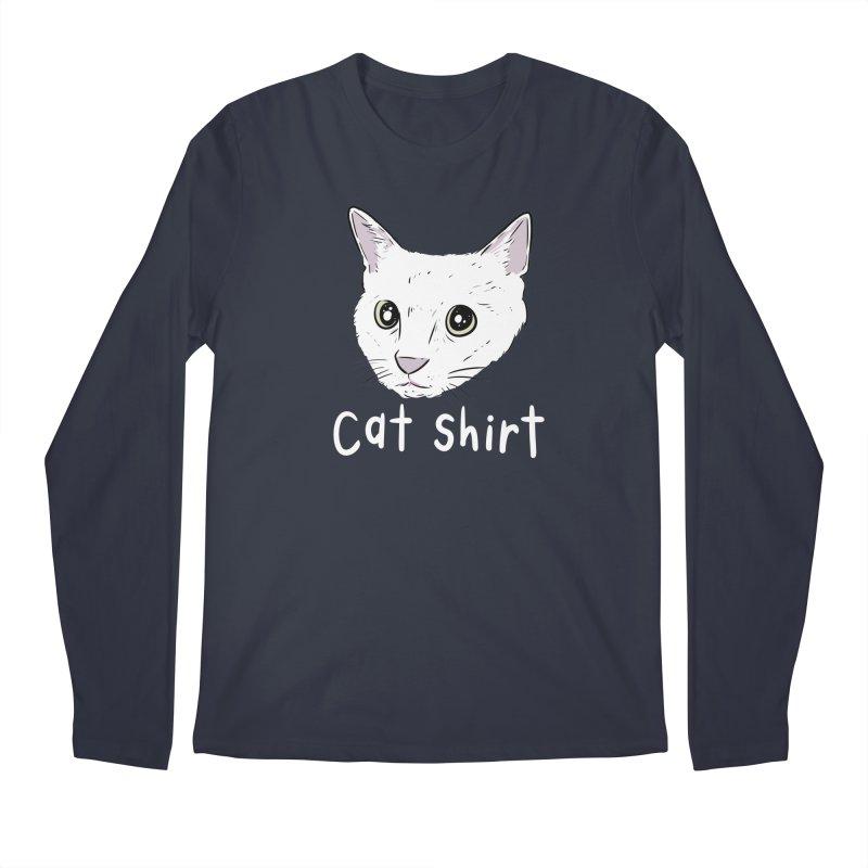 Cat Shirt Men's Regular Longsleeve T-Shirt by Ryan's Shop