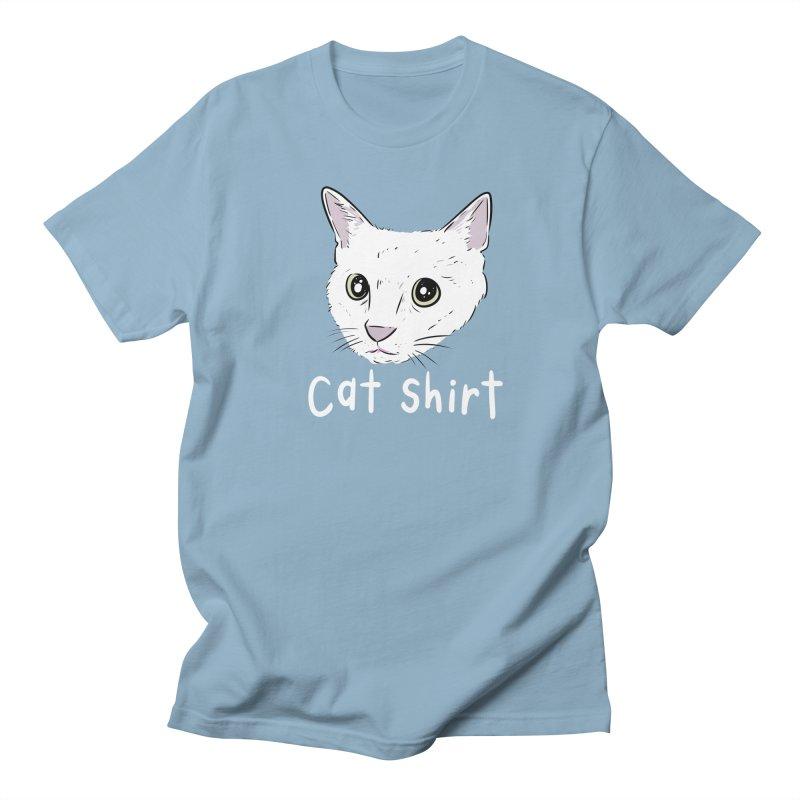 Cat Shirt Men's Regular T-Shirt by Ryan's Shop