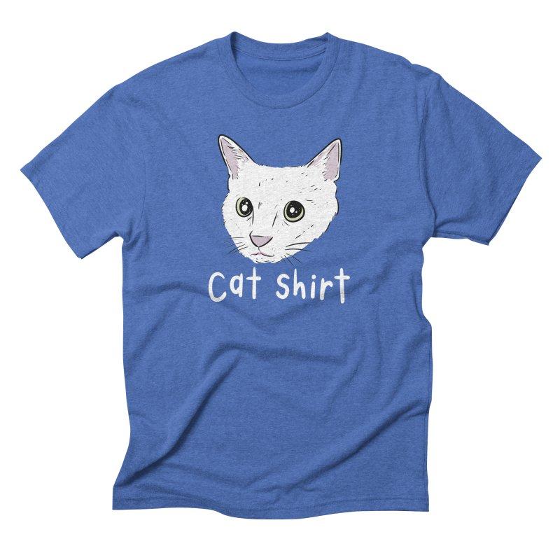 Cat Shirt Men's Triblend T-Shirt by Ryan's Shop