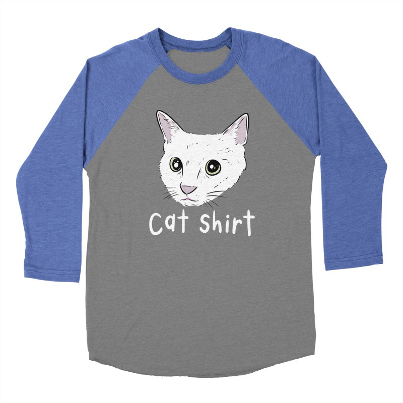 Cat Shirt Men's Baseball Triblend T-Shirt by Ryan's Shop