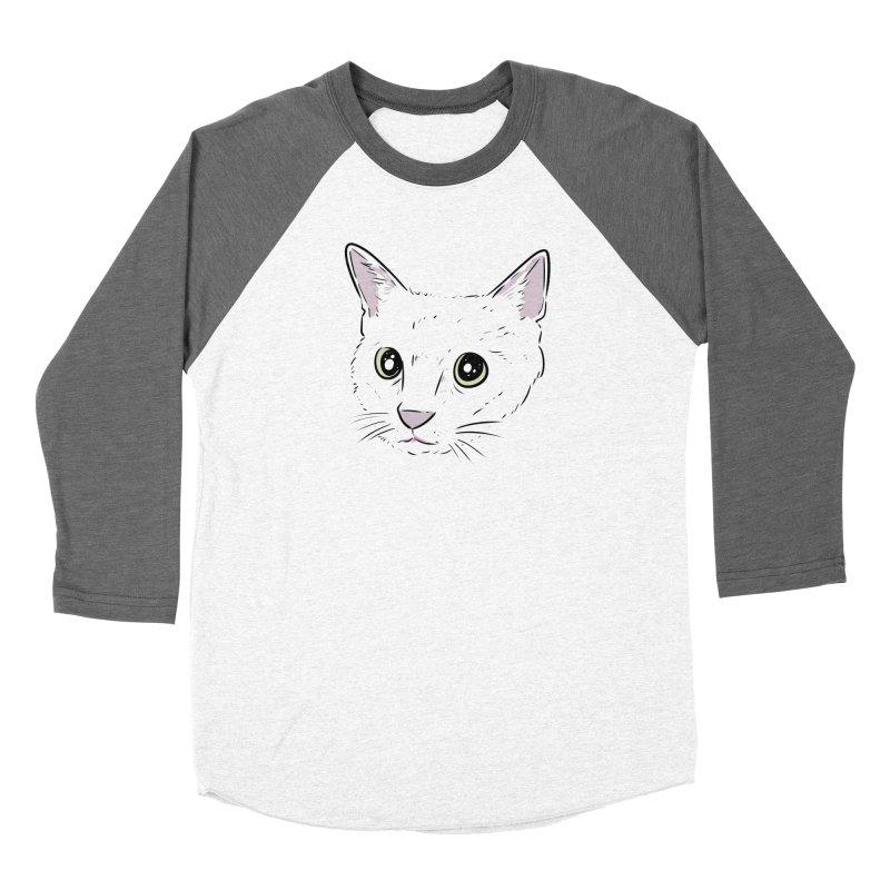 Cat Shirt Men's Baseball Triblend Longsleeve T-Shirt by Ryan's Shop