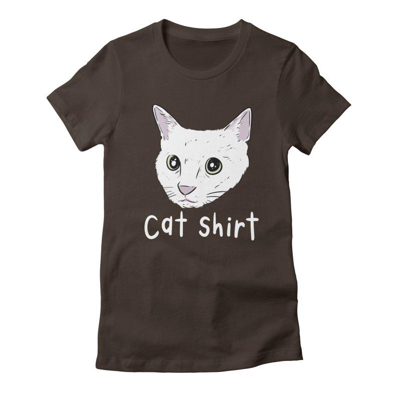 Cat Shirt Women's Fitted T-Shirt by Ryan's Shop