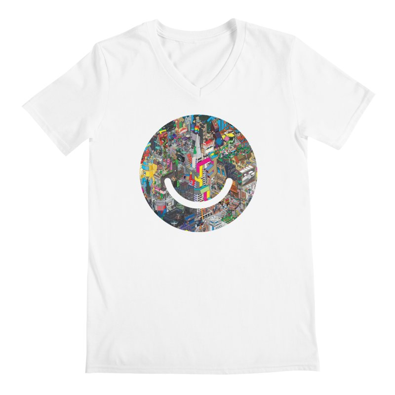 HelloSFello - eBoy Men's V-Neck by Ello x Threadless