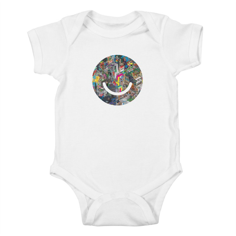 HelloSFello - eBoy Kids Baby Bodysuit by Ello x Threadless