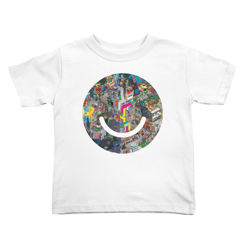 HelloSFello - eBoy Kids Toddler T-Shirt by Ello x Threadless