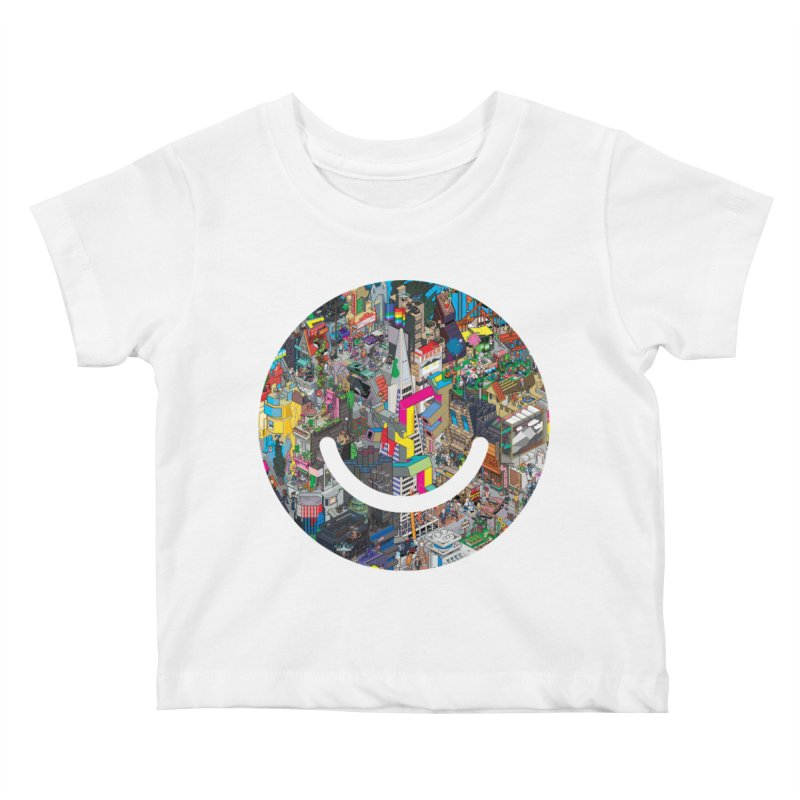 HelloSFello - eBoy Kids Baby T-Shirt by Ello x Threadless