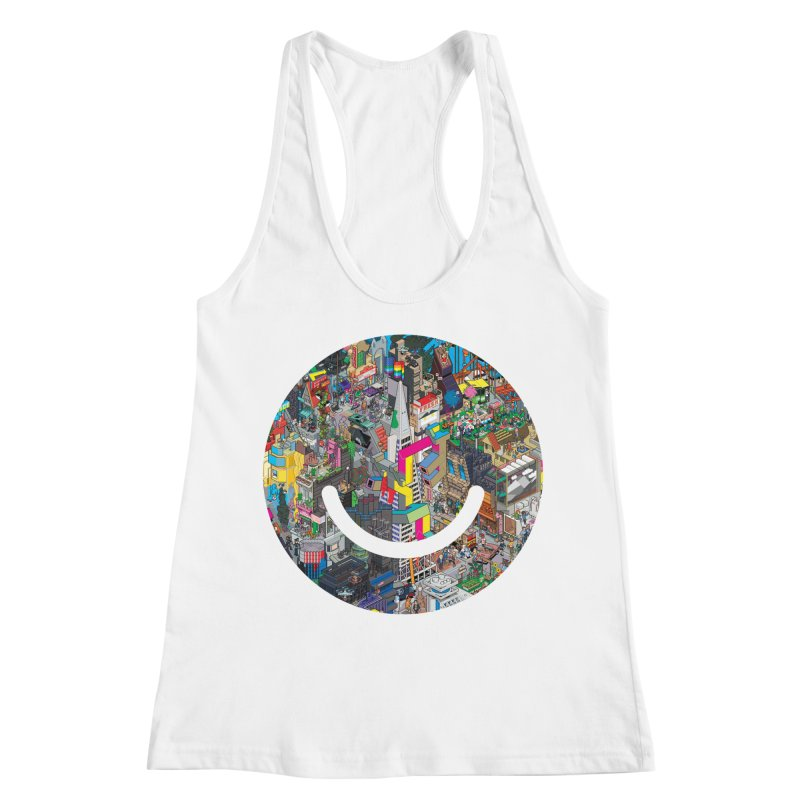 HelloSFello - eBoy Women's Racerback Tank by Ello x Threadless