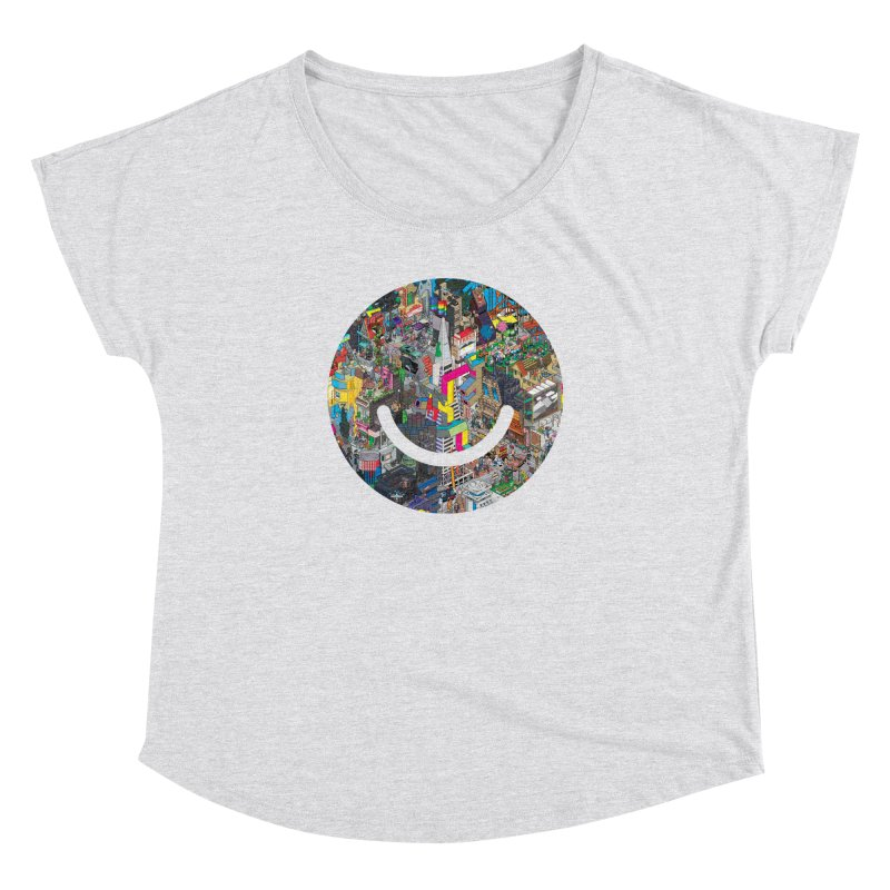 HelloSFello - eBoy Women's Scoop Neck by Ello x Threadless