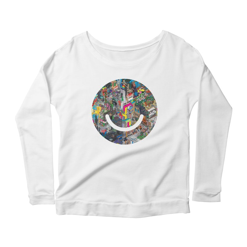 HelloSFello - eBoy Women's Scoop Neck Longsleeve T-Shirt by Ello x Threadless