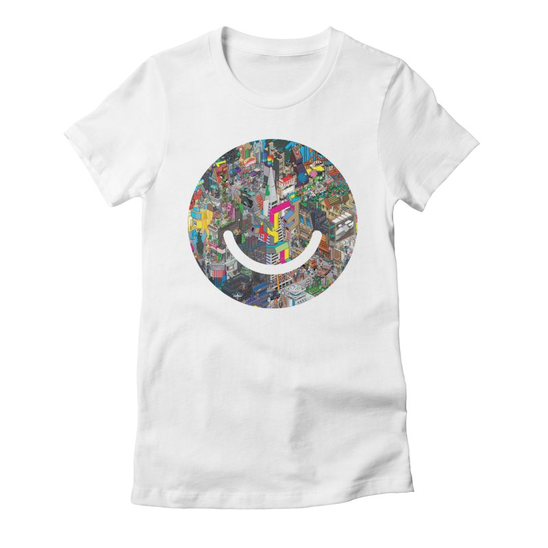 HelloSFello - eBoy Women's Fitted T-Shirt by Ello x Threadless