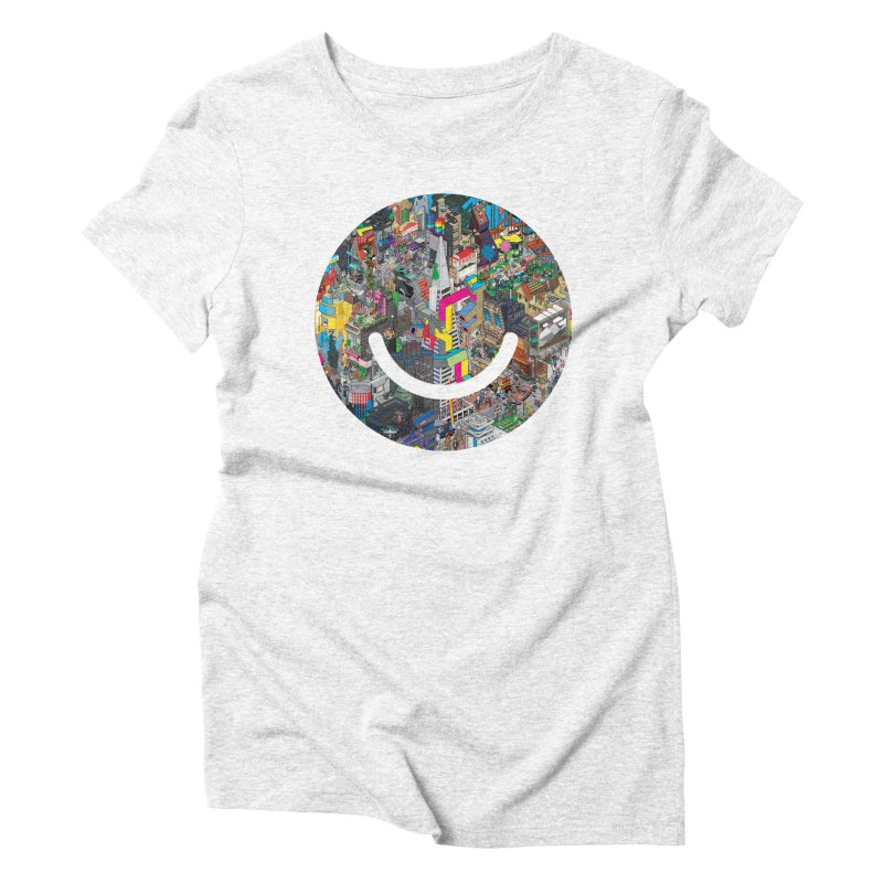 HelloSFello - eBoy Women's Triblend T-shirt by Ello x Threadless