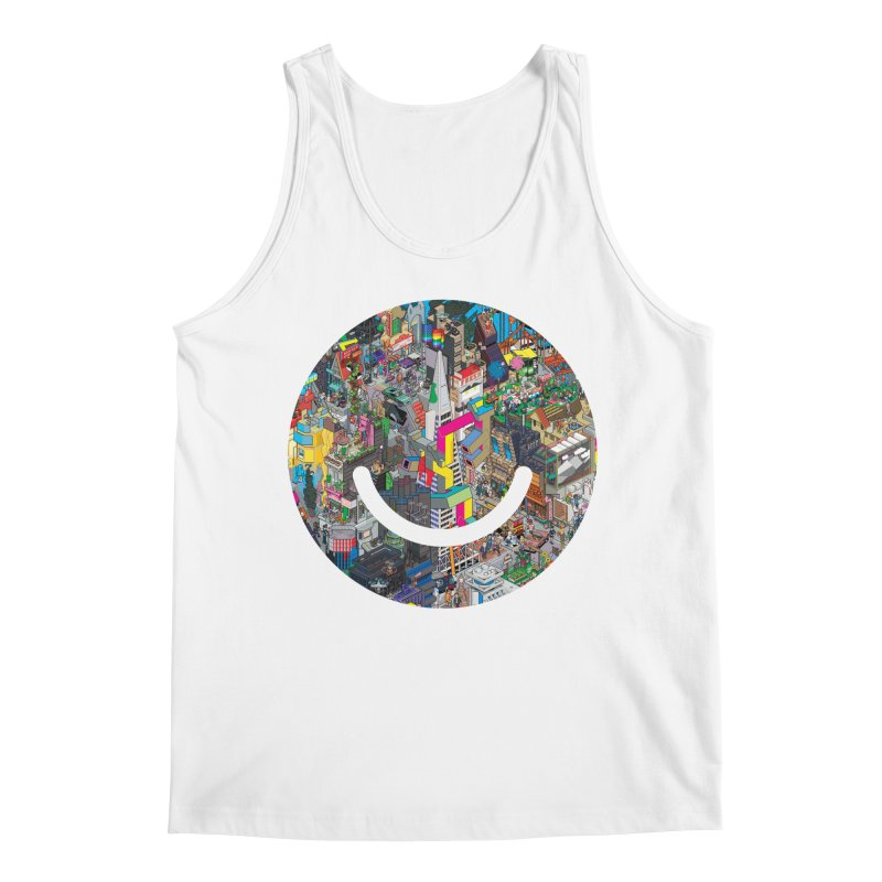 HelloSFello - eBoy Men's Regular Tank by Ello x Threadless