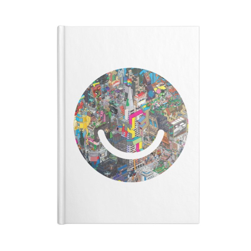HelloSFello - eBoy Accessories Blank Journal Notebook by Ello x Threadless