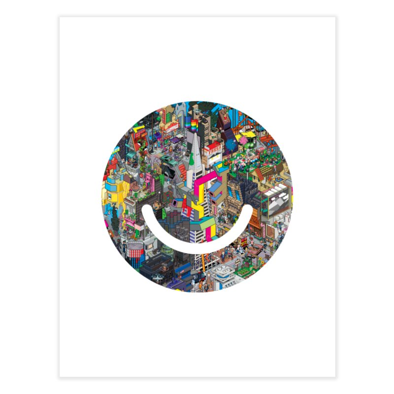 HelloSFello - eBoy Home Fine Art Print by Ello x Threadless