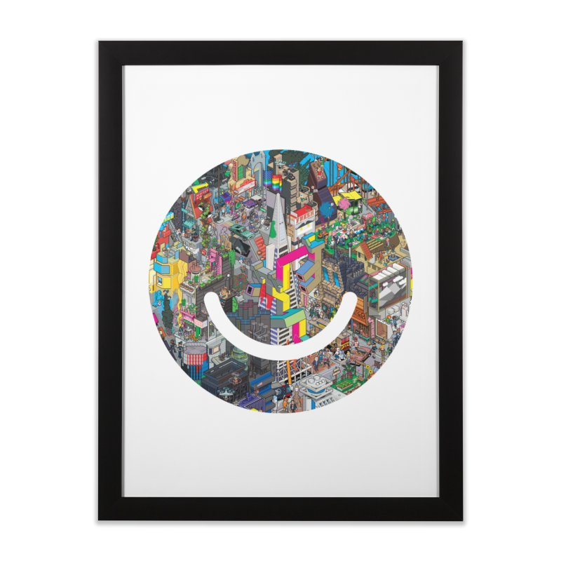 HelloSFello - eBoy Home Framed Fine Art Print by Ello x Threadless