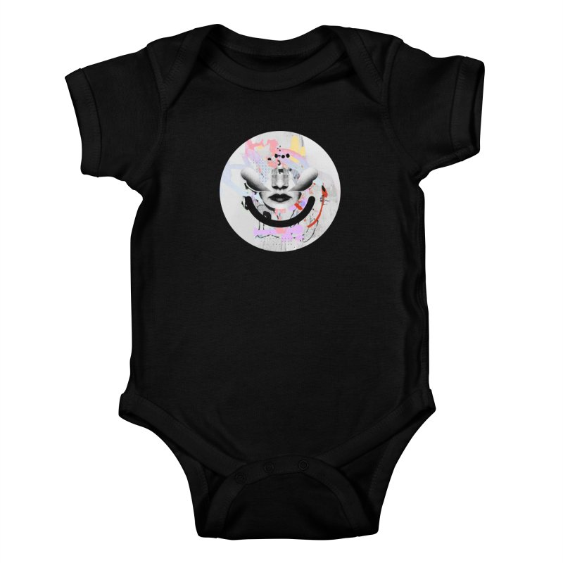 Rise Above - Mydeadpony Kids Baby Bodysuit by Ello x Threadless