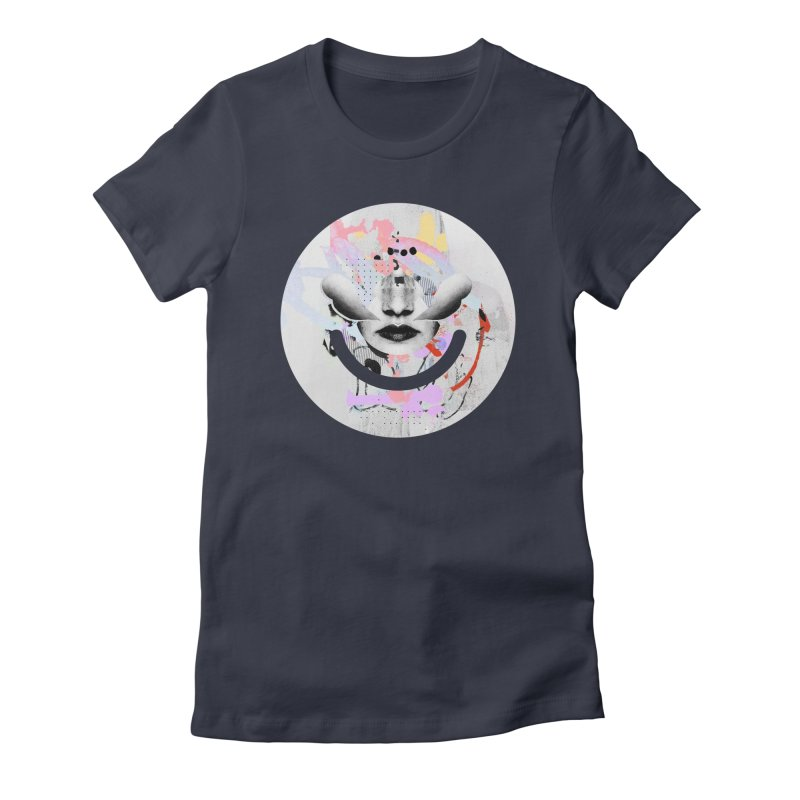 Rise Above - Mydeadpony Women's Fitted T-Shirt by Ello x Threadless