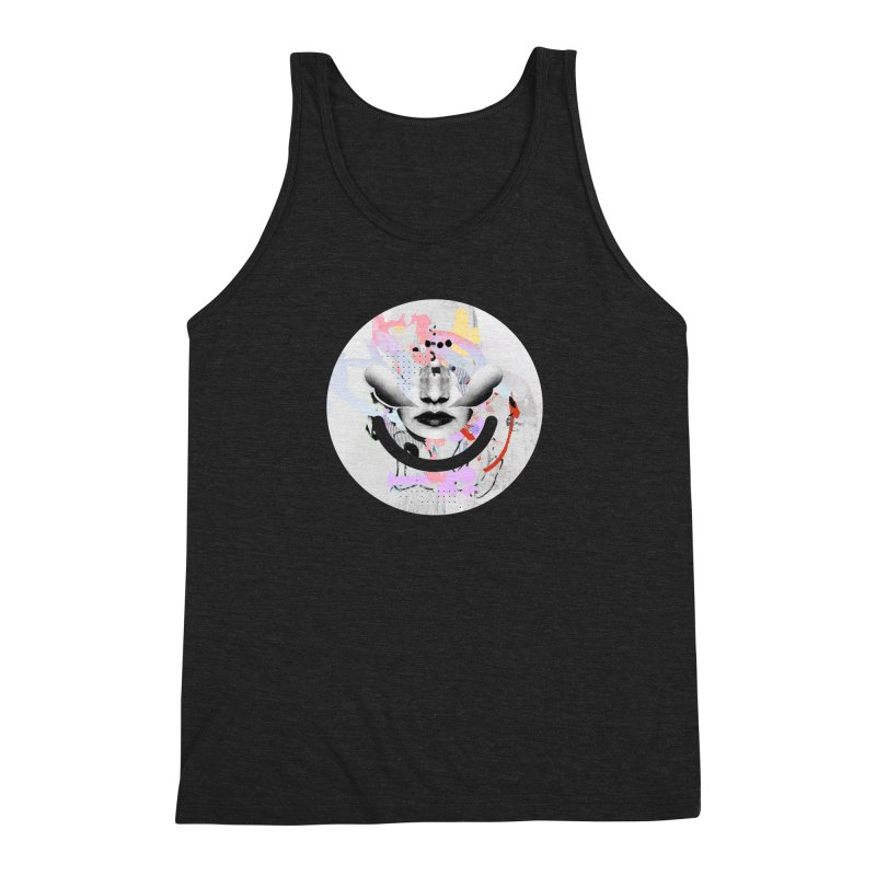 Rise Above - Mydeadpony Men's Triblend Tank by Ello x Threadless