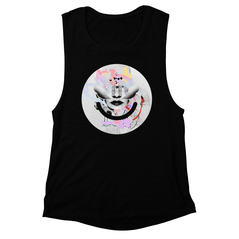 Rise Above - Mydeadpony Women's Muscle Tank by Ello x Threadless