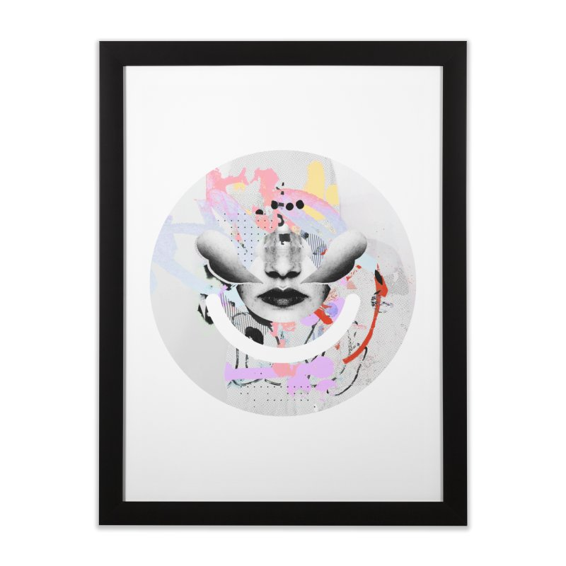 Rise Above - Mydeadpony Home Framed Fine Art Print by Ello x Threadless