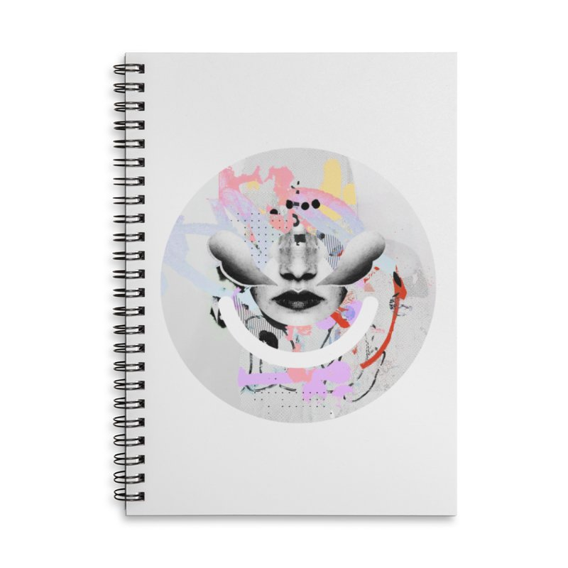 Rise Above - Mydeadpony Accessories Lined Spiral Notebook by Ello x Threadless