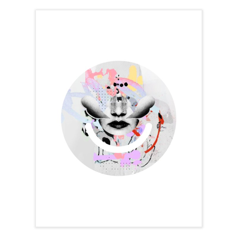 Rise Above - Mydeadpony Home Fine Art Print by Ello x Threadless