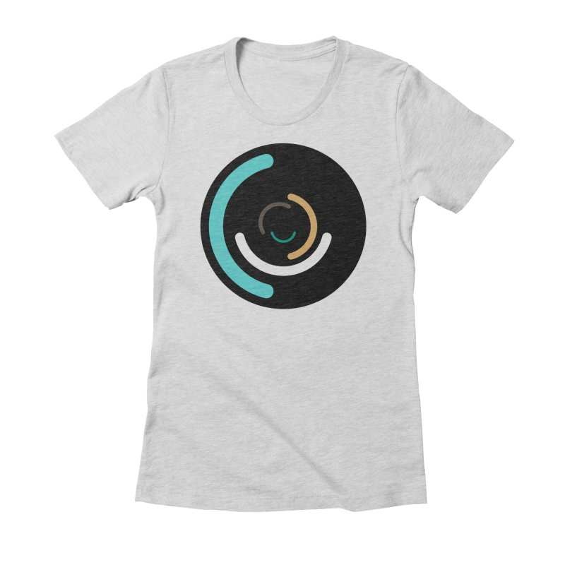 Infinite Ello - Danny Schlitz Women's Fitted T-Shirt by Ello x Threadless