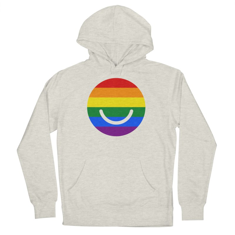 Pride Men's French Terry Pullover Hoody by Ello x Threadless