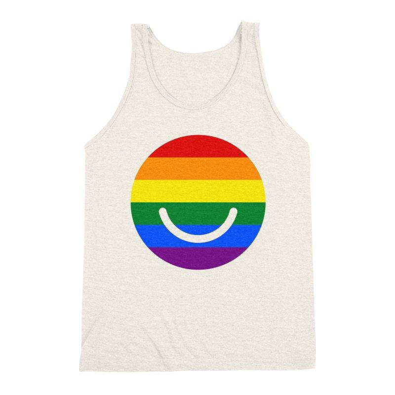 Pride Men's Triblend Tank by Ello x Threadless
