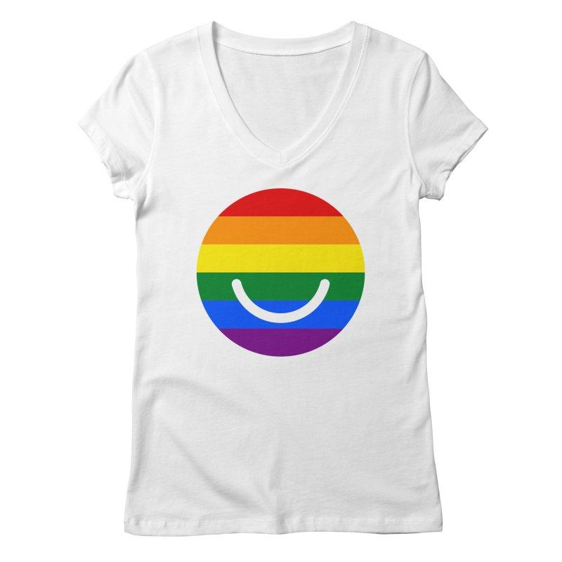 Pride Women's V-Neck by Ello x Threadless