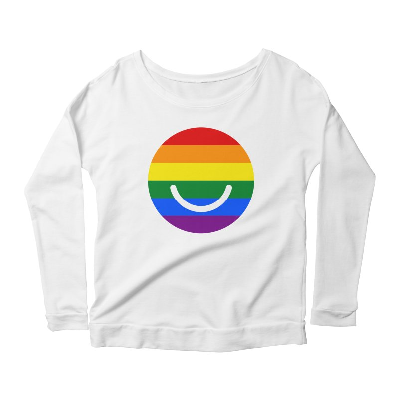 Pride Women's Scoop Neck Longsleeve T-Shirt by Ello x Threadless