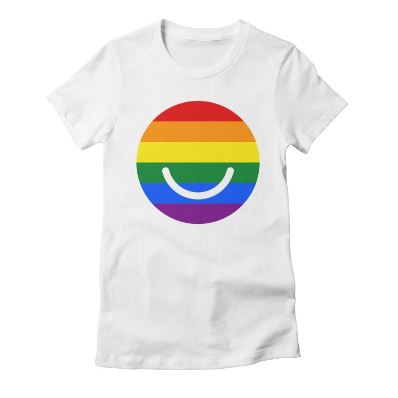 Pride Women's Fitted T-Shirt by Ello x Threadless
