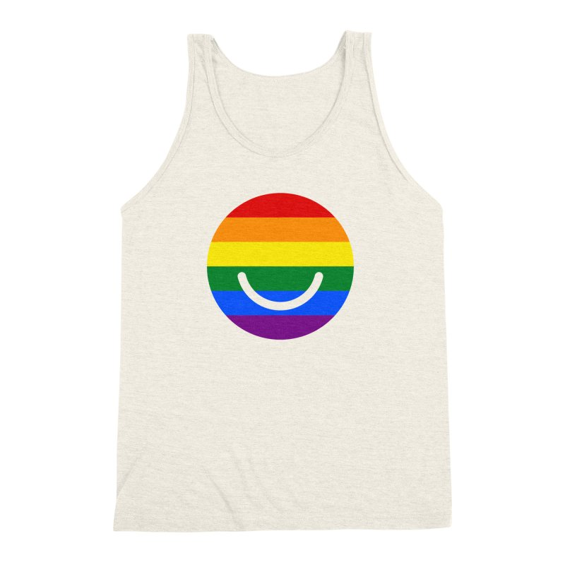 Pride Men's Triblend Tank by Ello x Threadless