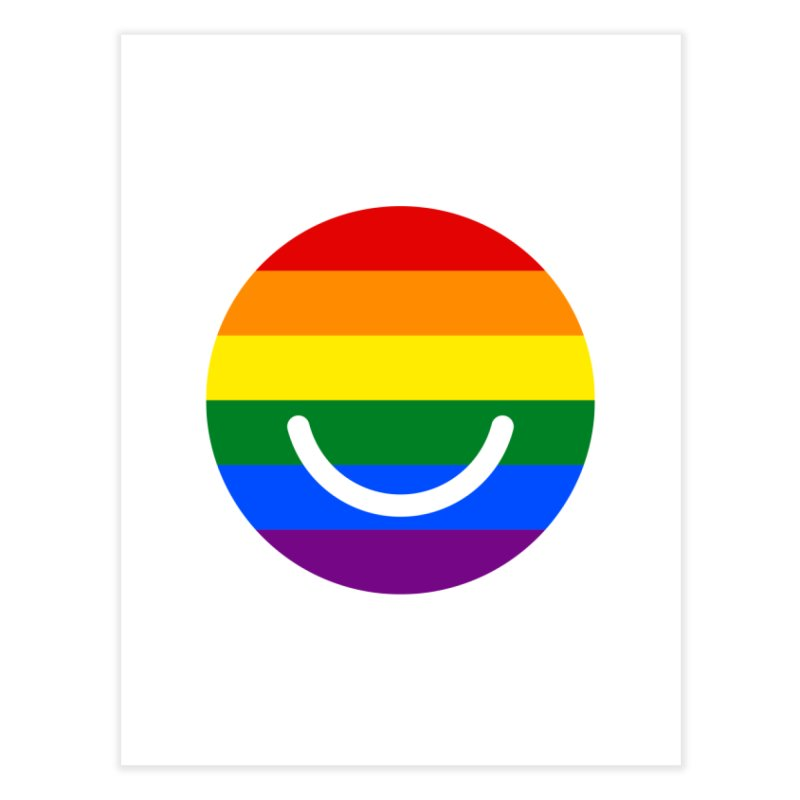 Pride Home Fine Art Print by Ello x Threadless