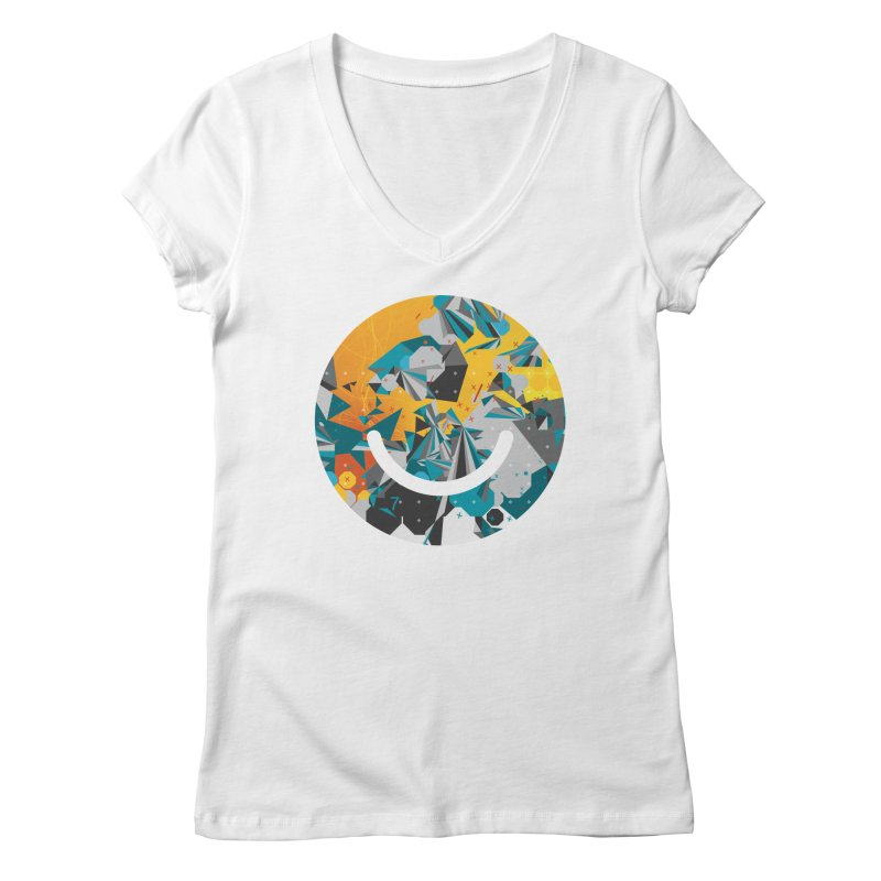 XXX - Joshua Davis Women's V-Neck by Ello x Threadless