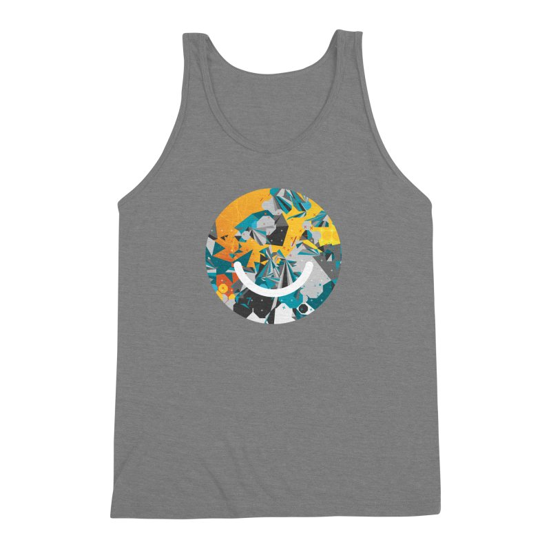 XXX - Joshua Davis Men's Triblend Tank by Ello x Threadless