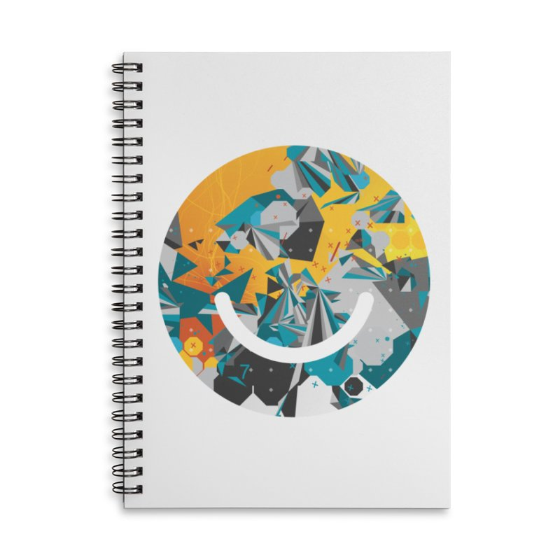 XXX - Joshua Davis Accessories Lined Spiral Notebook by Ello x Threadless