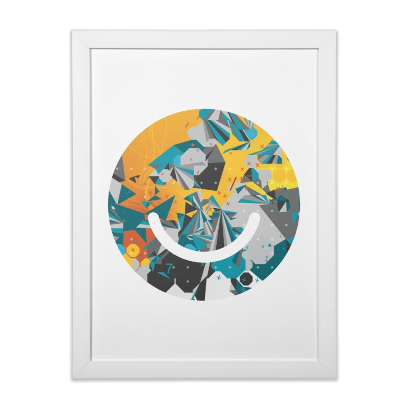 XXX - Joshua Davis Home Framed Fine Art Print by Ello x Threadless