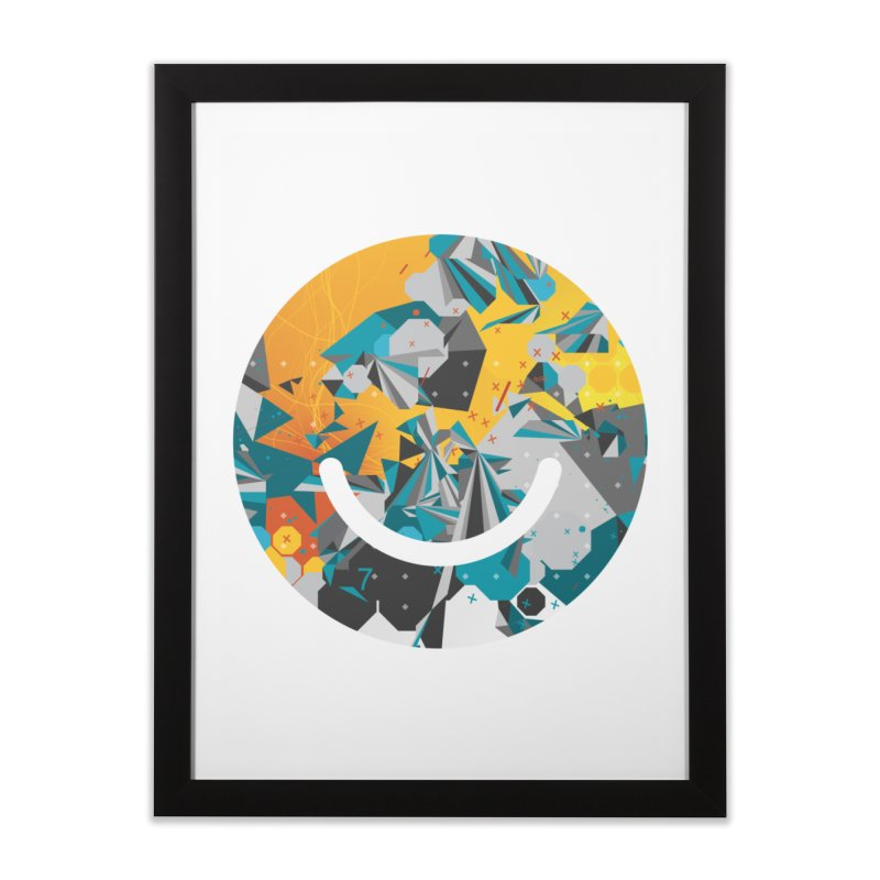 XXX - Joshua Davis Home Framed Fine Art Print by Ello x Threadless