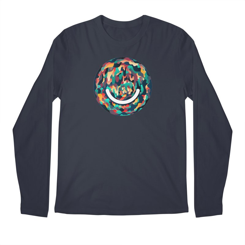 Color Cave - Chuck Anderson Men's Longsleeve T-Shirt by Ello x Threadless