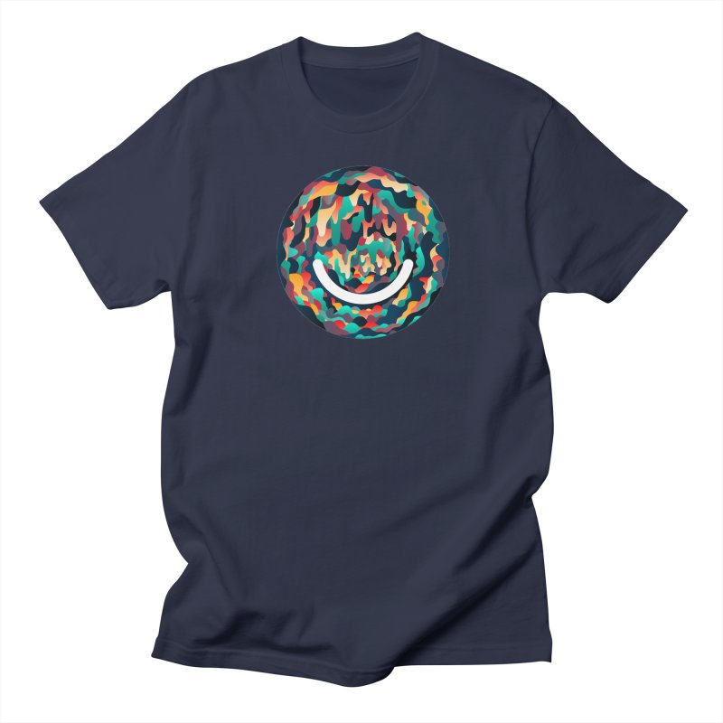Color Cave - Chuck Anderson in Men's Regular T-Shirt Navy by Ello x Threadless