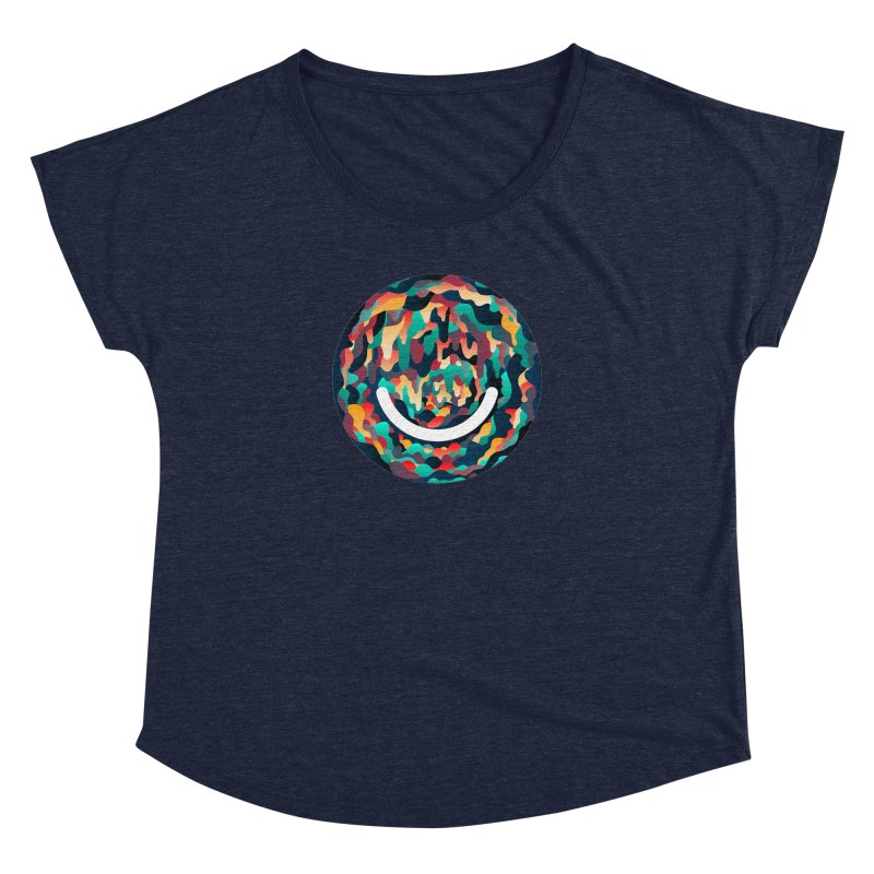 Color Cave - Chuck Anderson Women's Scoop Neck by Ello x Threadless