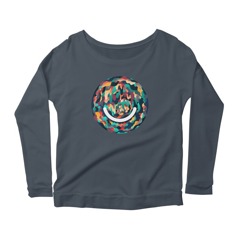 Color Cave - Chuck Anderson Women's Scoop Neck Longsleeve T-Shirt by Ello x Threadless